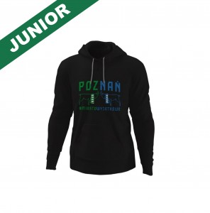 CZARNA BLUZA JUNIOR DERBY POZNANIA